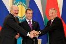 Встреча президентов России, Республики Беларусь и Казахстана
