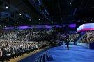 Съезд партии «Единая Россия»: Путина выдвинули кандидатом в президенты