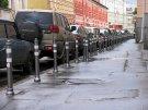 Автомобили будут вытеснять с тротуаров