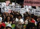 В Мадриде полиция разогнала акцию «возмущенных»