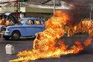 Тибетские монахи устроили акт самосожжения в Лхасе