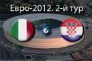 Матч Италия -Хорватия завершился вничью