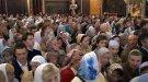 Храм Христа Спасителя не вместил всех, кто пришел на молебен в воскресенье