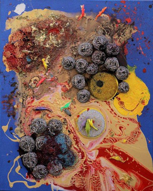 Юная художница Аэлита Андре