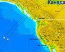 На западе Канады произошло землетрясение магнитудой 6,2