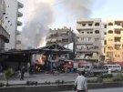 Сирийские повстанцы обстреляли из минометов школу