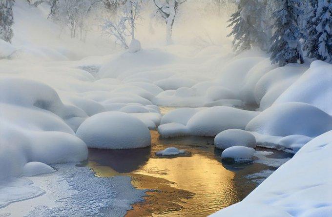 15 завораживающих зимних пейзажей