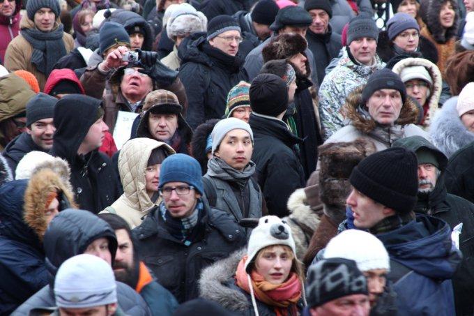 Акция протеста против закона Димы Яковлева в Москве 13 января