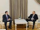 Президент Азербайджана принял министра обороны Грузии