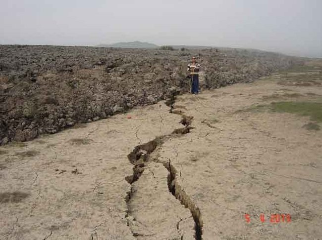 Самый большой вулкан Азербайджана проснулся. ФОТОЛЕНТА