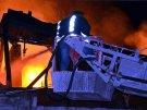 Химическая фабрика горит недалеко от Стамбула