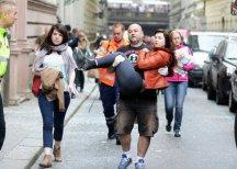 Жертвами взрыва в Праге могли стать от трех до четырех человек