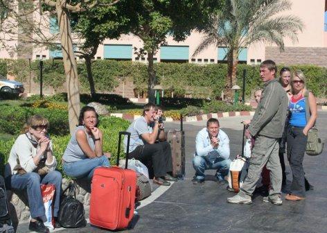 Невероятные приключения российских туристов в Египте