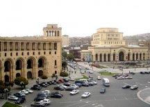 Перед резиденцией президента Армении прошла акция протеста