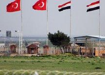 Турция закрыла один из КПП на границе с Сирией