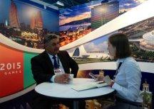 Азербайджан презентовал I Европейские игры в Санкт-Петербурге