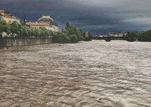 В Праге началась эвакуация населения из-за наводнения