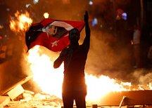 Протесты в Турции продолжаются