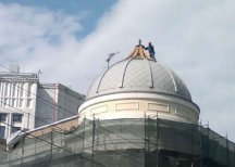 На «доме Болконского» снесли часть купола
