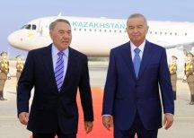Президент Казахстана прибыл вУзбекистан