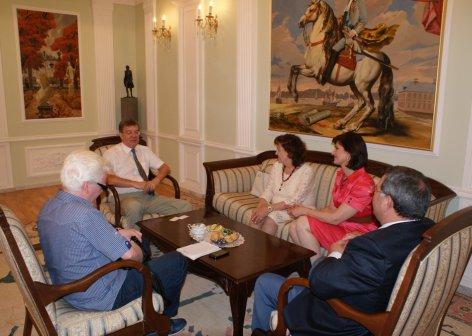 Посол России в Азербайджане принял делегацию ФНКА АзерРос