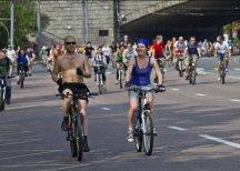 Большой велопарад в Москве