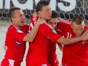Чемпионат Мира по пляжному футболу: России переиграла команду Кот-д'Ивуара