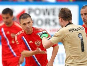 Сборная России по пляжному футболу вышла в полуфинал чемпионата мира