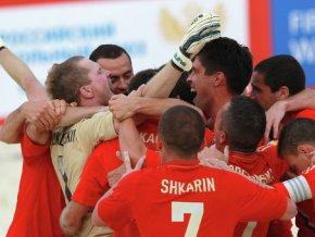 Сборная РФ стала чемпионом мира по пляжному футболу