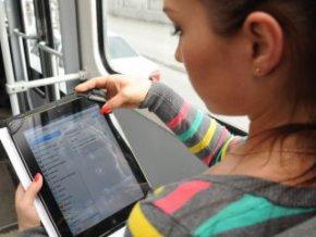 В наземном транспорте Москвы запустили бесплатный Wi-Fi