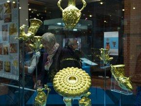 Золото фракийских кладов в Историческом музее