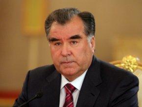Правящая партия выдвинула Рахмона в президенты Таджикистана
