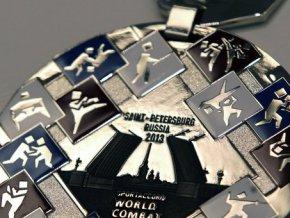 Медали Всемирных игр боевых искусств представлены в Санкт-Петербурге