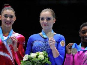 Алия Мустафина принесла «золото» сборной России на ЧМ по спортивной гимнастике в Бельгии