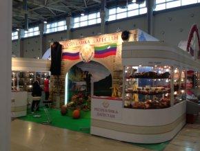 Дагестанская продукция - вновь на выставке в Москве