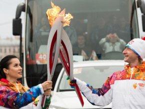 Огонь XXII зимних Олимпийских игр 2014 года прибыл в Якутию