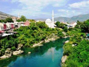Мостар - город, где соединилось время