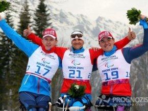 Российские паралимпийцы заняли весь пьедестал в лыжной гонке на 15 км