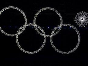 В России зарегистрируют бренд с нераскрывшимся олимпийским кольцом