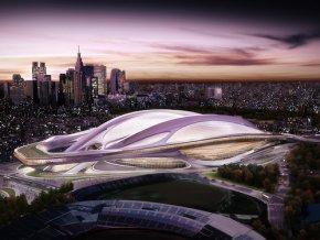 Проект стадиона для летней Олимпиады 2020 года в Токио