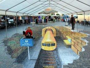 В Бангкоке стартовал фестиваль 3D уличного искусства