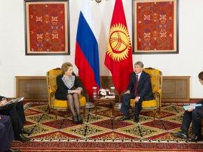 В. Матвиенко: Киргизия делает всё, чтобы присоединение к ЕАЭС произошло уже с января 2015 года