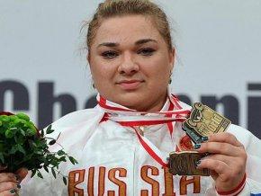Российская тяжелоатлетка обновила мировой рекорд