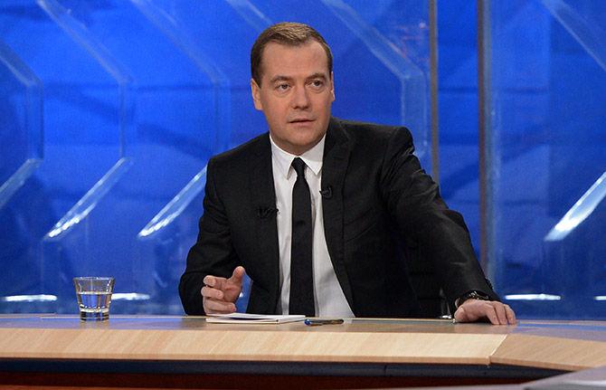 Об итогах года с Дмитрием Медведевым