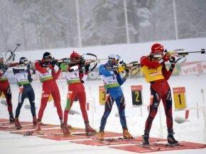 Биатлонисты сборной России взяли «бронзу» эстафеты в Рупольдинге