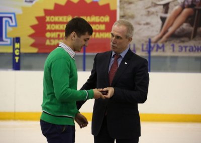 Туран Аллахъяров – перспективный спортсмен