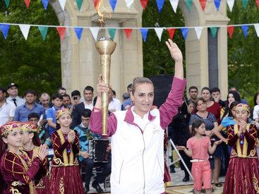 Факел первых Евроигр в Баку пронесут более 150 человек