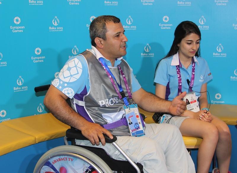 Ильхам Магеррамов: «В качестве волонтера я принял активное участие в подготовке Европейских игр в Баку»
