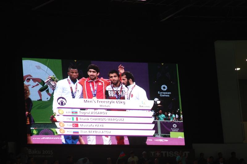 Тогрул Аскеров и Хетаг Газюмов – золотые призеры первых Европейских игр