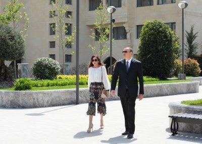 В Баку появился парк Европейских игр